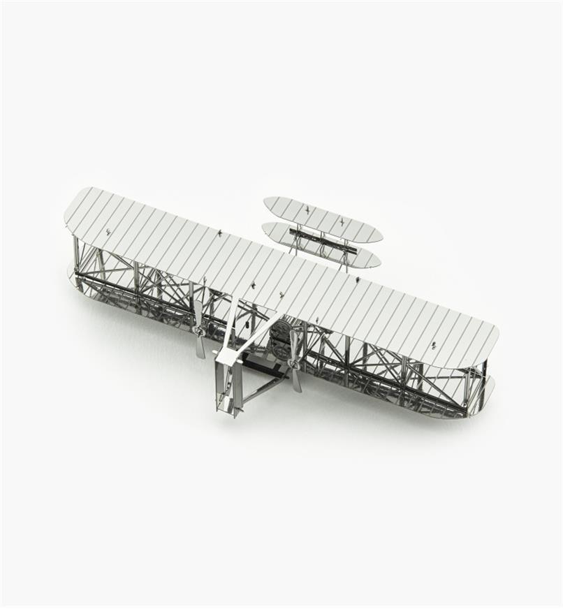 45K4084 - Modèle réduit en métal – Biplan des frères Wright