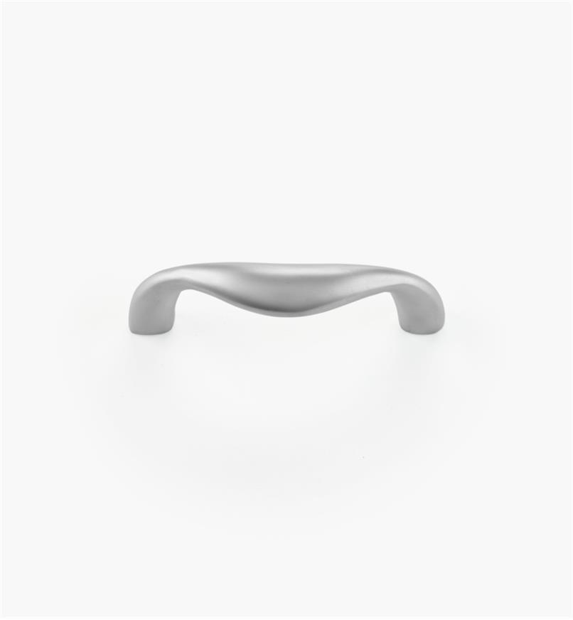 00W5865 - Poignée en laiton coulé, fini chrome mat, 64 mm