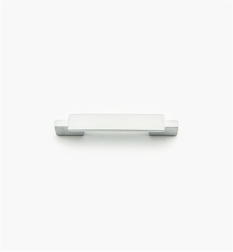 01G1843 - Bridge Hardware - 64mm x 103mm Matte Chrome Handle