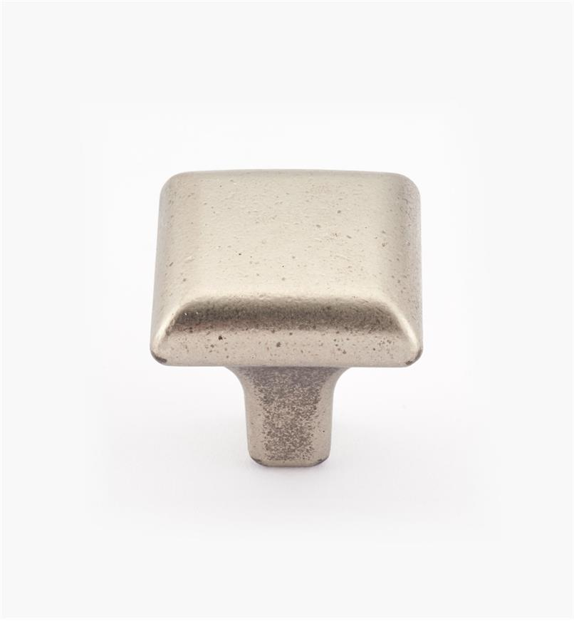 01X4015 - Pewter Square Knob