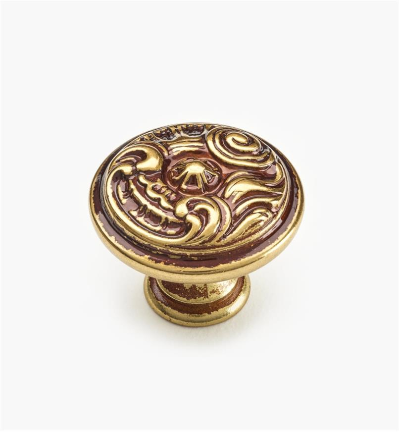 01A5322 - 30mm x 26mm Louis XV Knob