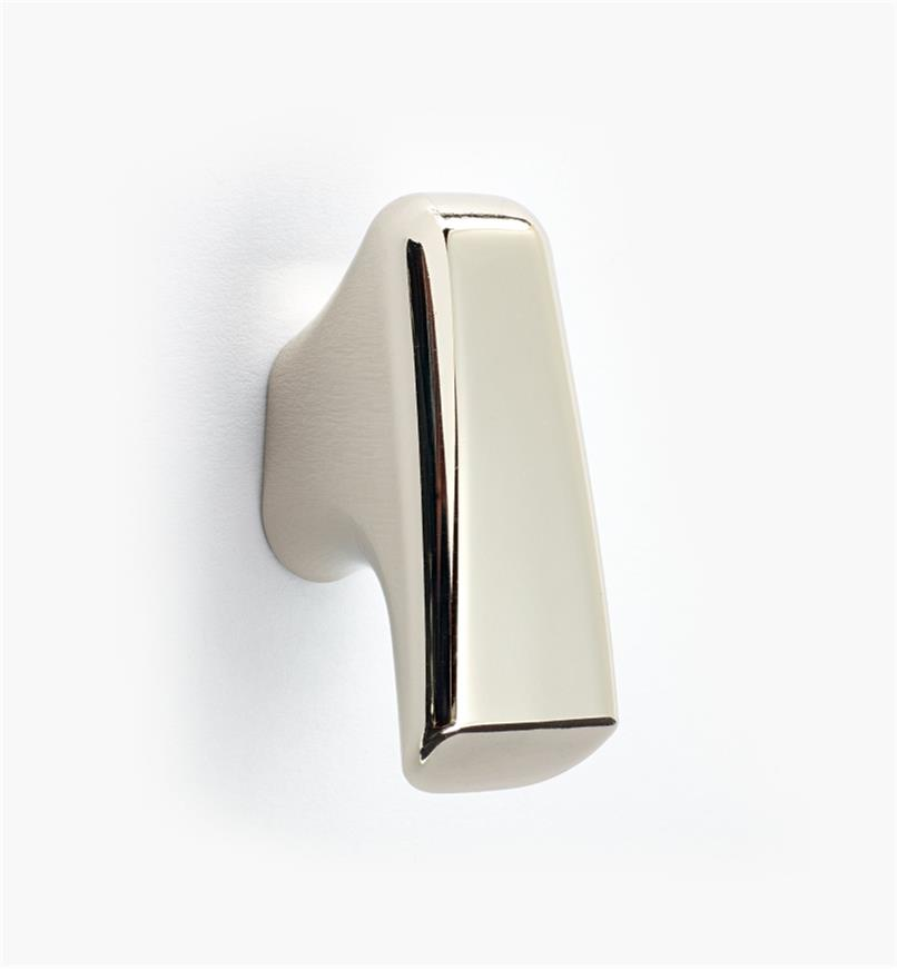 02W1470 - Poignée à tirette, sérieWind, 40mm, nickelpoli