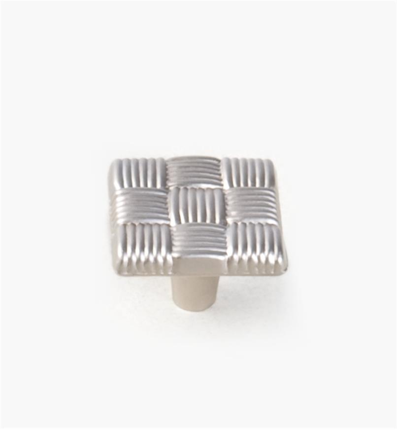"03W2110 - 1 1/4""sq. Tapestry Square-Weave Knob, each"