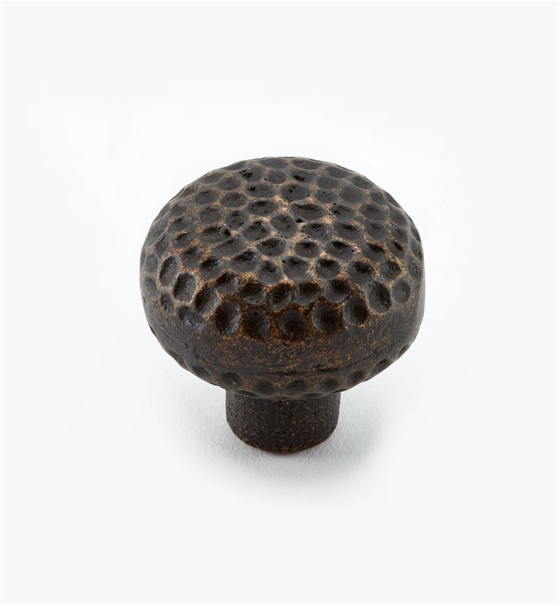 "01H0210 - 1 1/4"" Antique Bronze Knob"