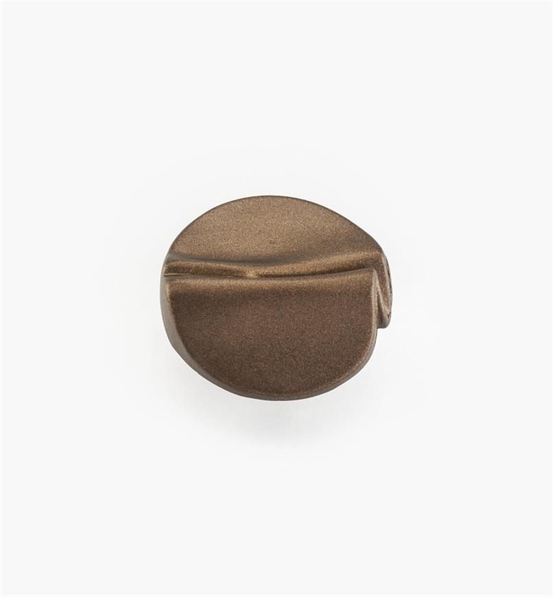 """01W4953 - 1 3/8"""" Garbow Aged Brass Knob"""