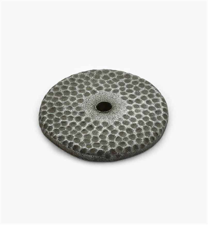 02G0275 - Rosace en bronze coulé de 1 5/8 po, étain