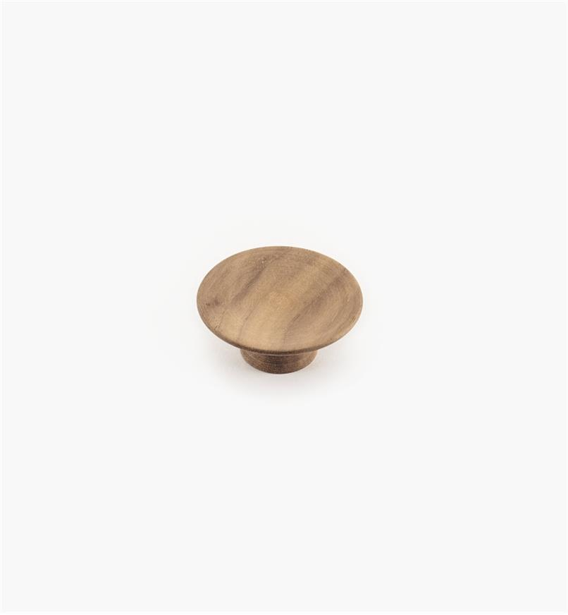 02G2029 - 50mm x 20mm Olympia Danish Walnut Knob