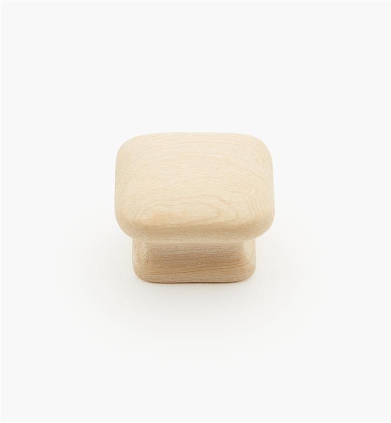 """02G1411 - 1 1/2"""" x 15/16"""" Maple Flat Knob"""