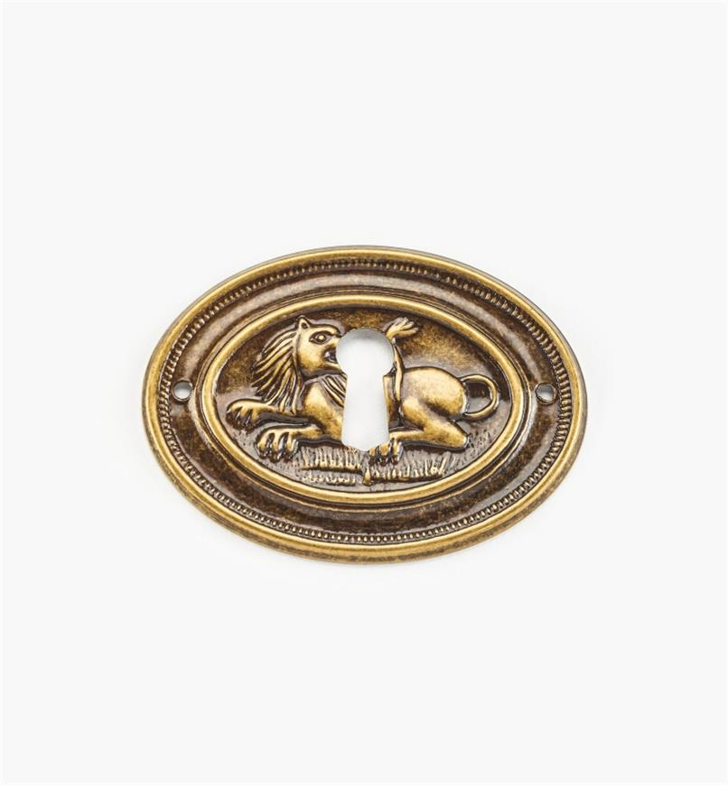 01A4103 - Small Lion Escutcheon