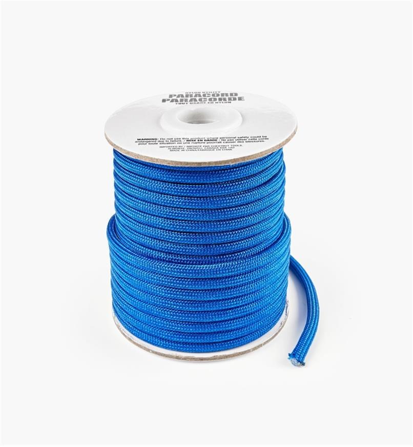 09A0719 - 50' Paracord, Blue