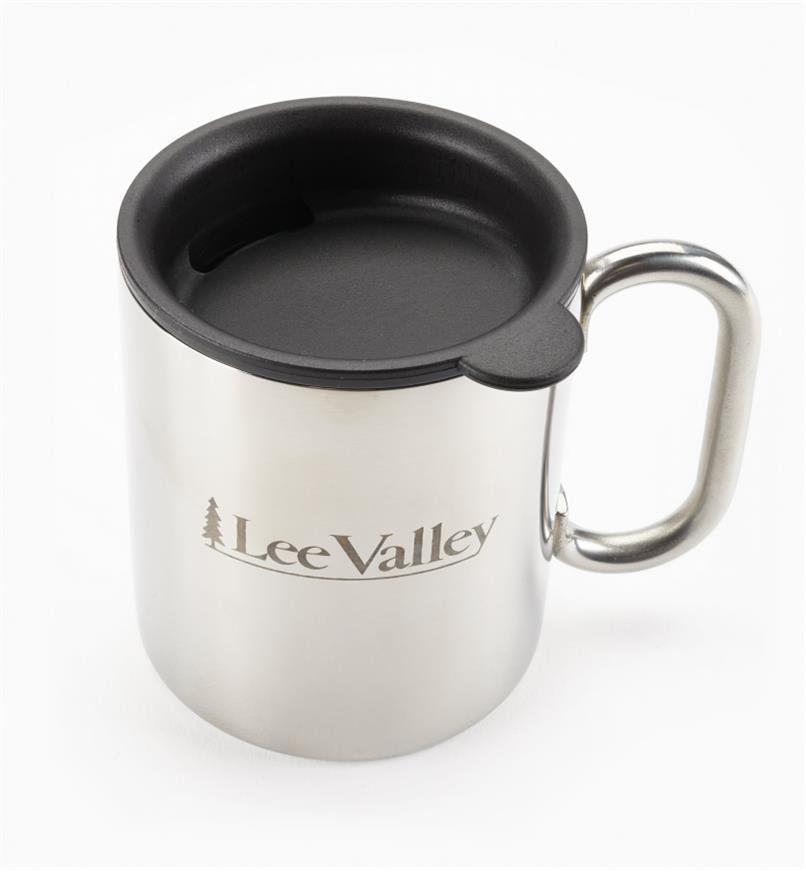 44K1704 - Tasse en acier inoxydable de 9 oz, LeeValley