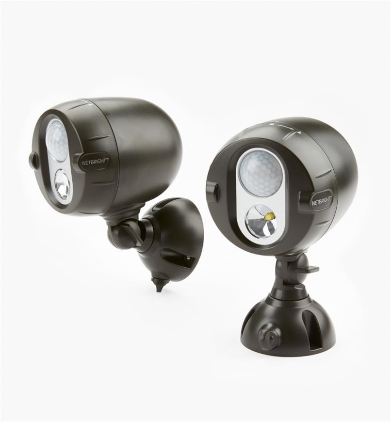 GL130 - NetBright Synchronized Outdoor LED Floodlight, pkg. of 2
