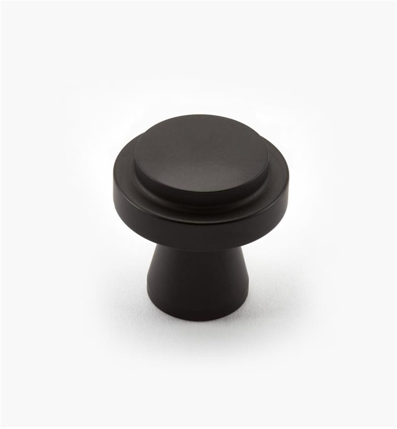 00W0710 - Concerto Hardware - 30mm x 30mm Oil-Rubbed Bronze Knob