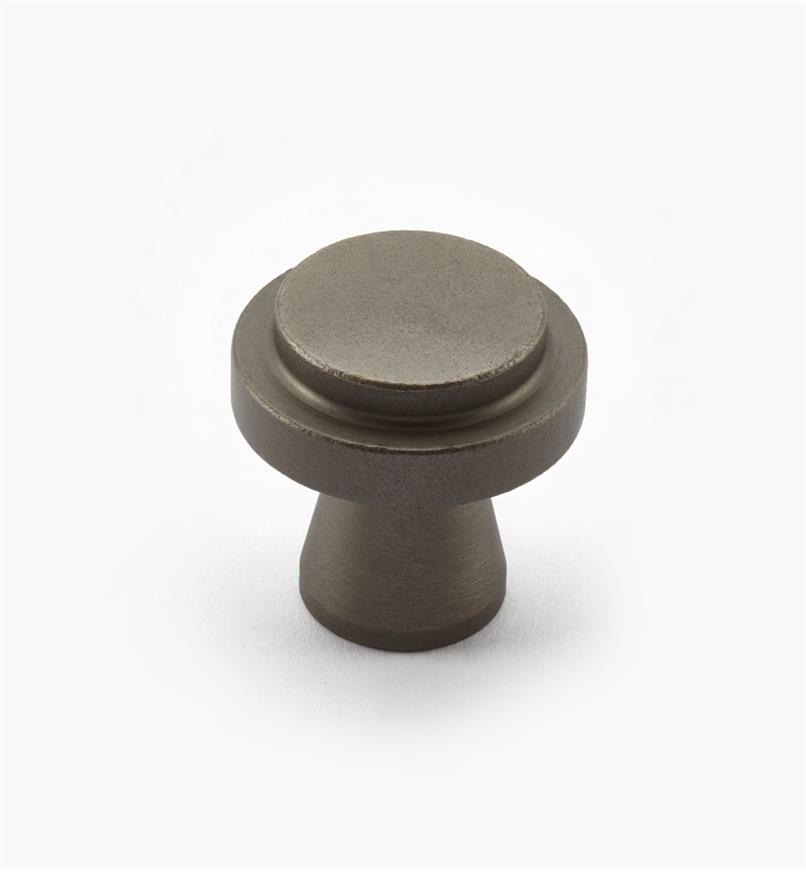 00W0720 - Concerto Hardware - 30mm x 30mm Pewter Knob