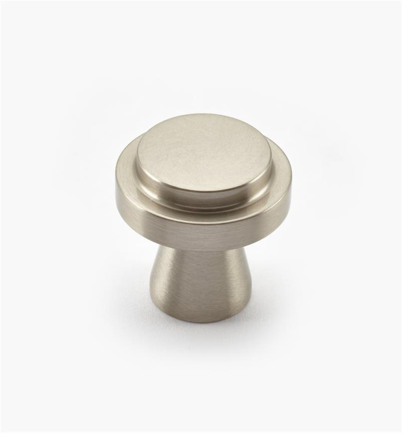 00W0730 - Concerto Hardware - 30mm x 30mm Satin Nickel Knob