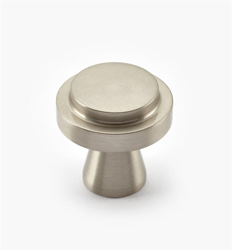 00W0734 - Concerto Hardware - 35mm x 35mm Satin Nickel Knob
