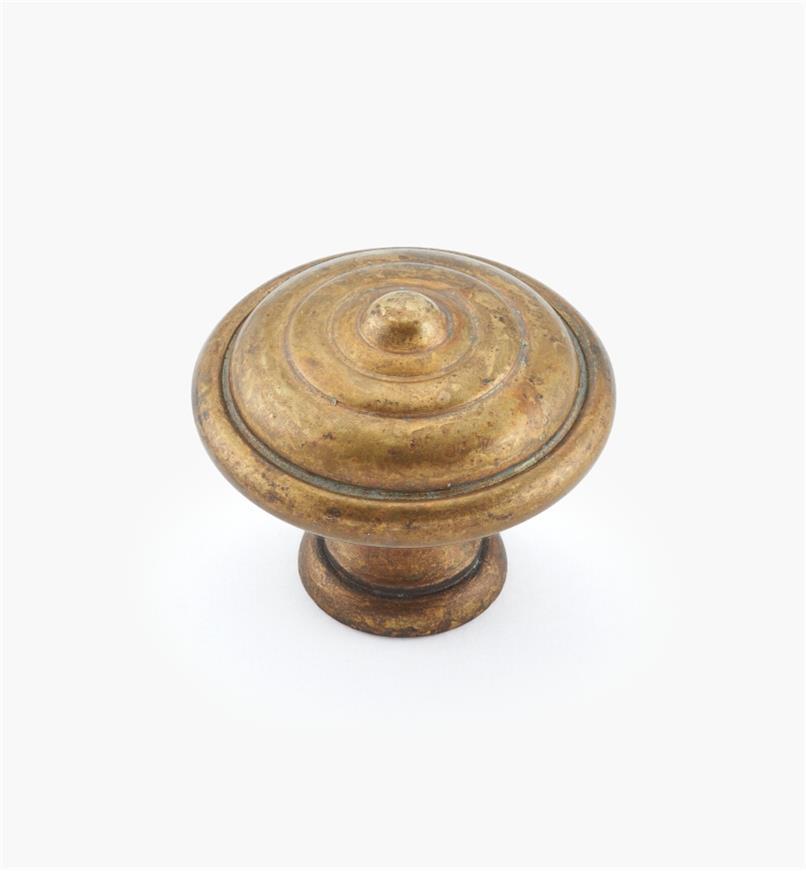 01A7735 - Bouton de 35mmx 29mm, série 18e siècle, finilaitonancien