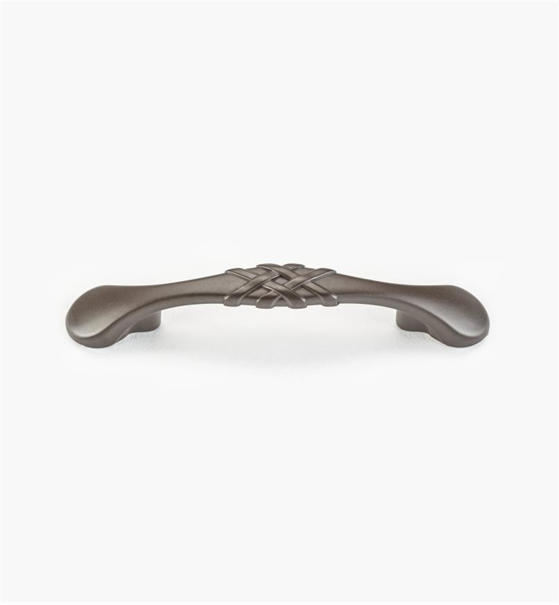 "01W0637 - 3"" Oil-Rubbed Bronze Ribbon Handle"
