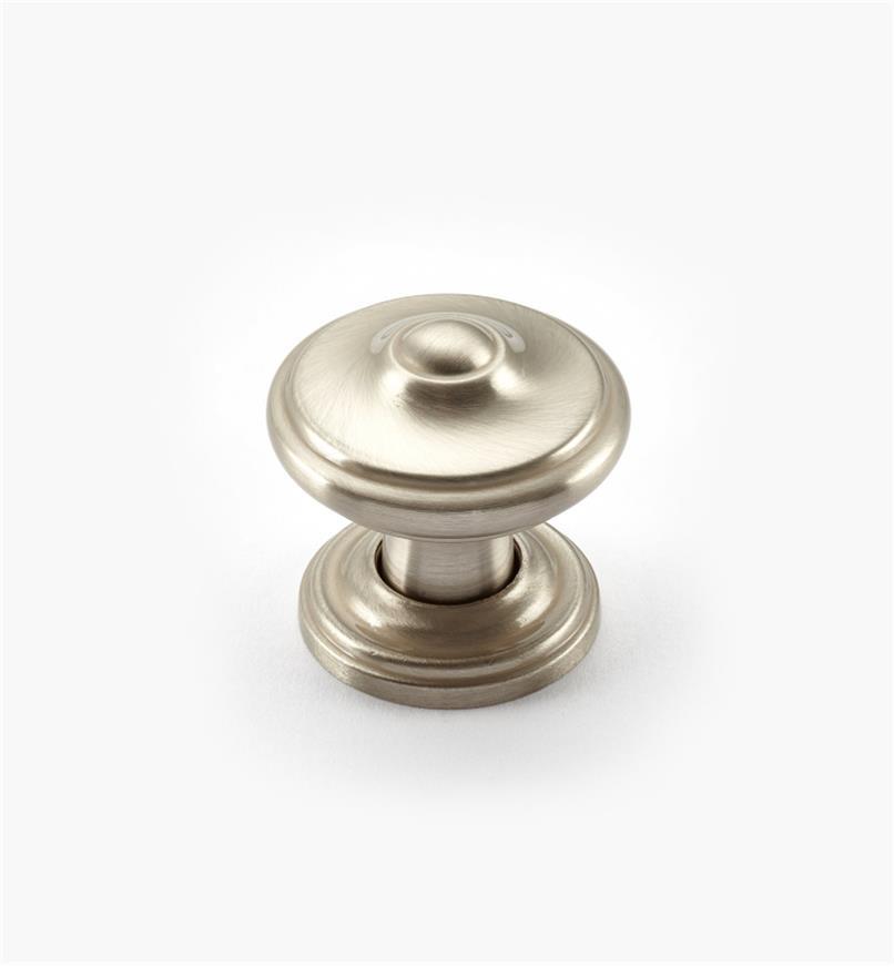 02A1681  - Bouton lyonnais Revitalize, 11/4po, chrome satiné, l'unité