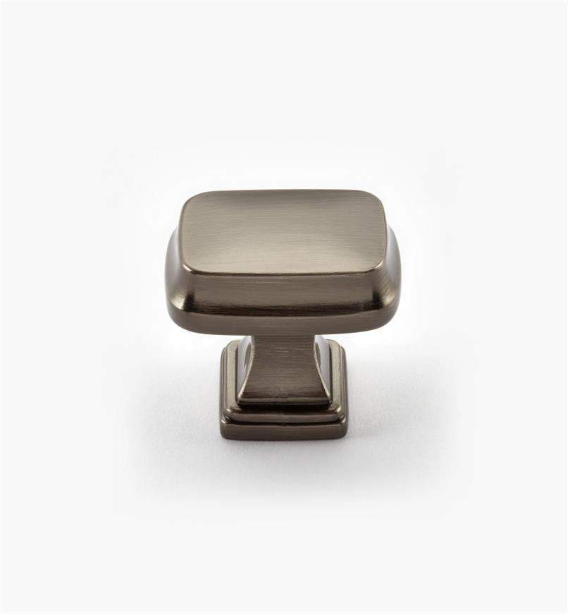 02A2230 - Bouton rectangulaire Revitalize, 11/4po, bronze à canon, l'unité