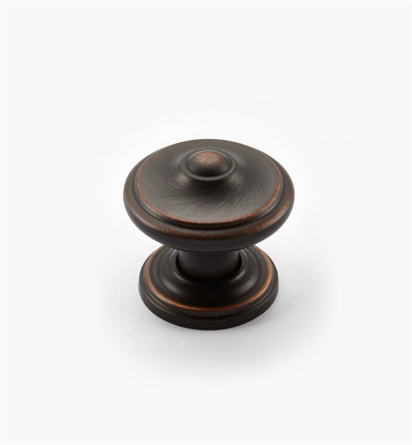 "02A2241 - Revitalize ORB 1 1/4"" Peaked Round Knob, each"