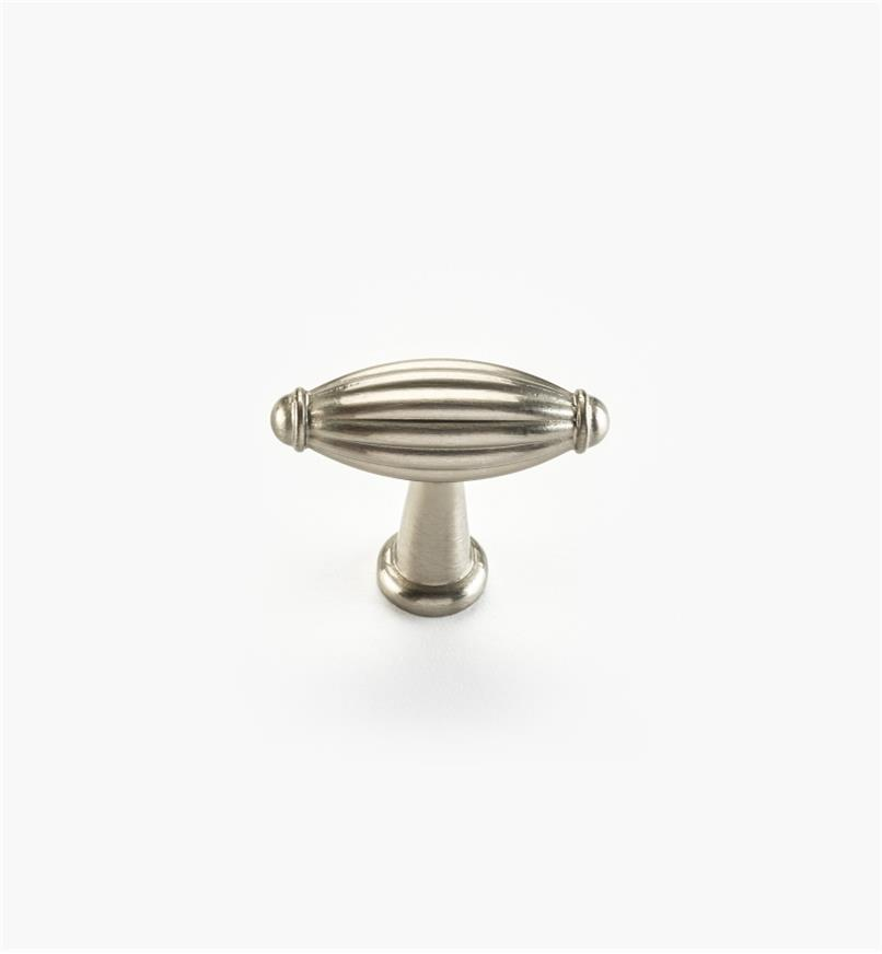 "02W4420 - Olive Suite – 1 3/4"" x 1 7/16"" Satin Nickel Knob"