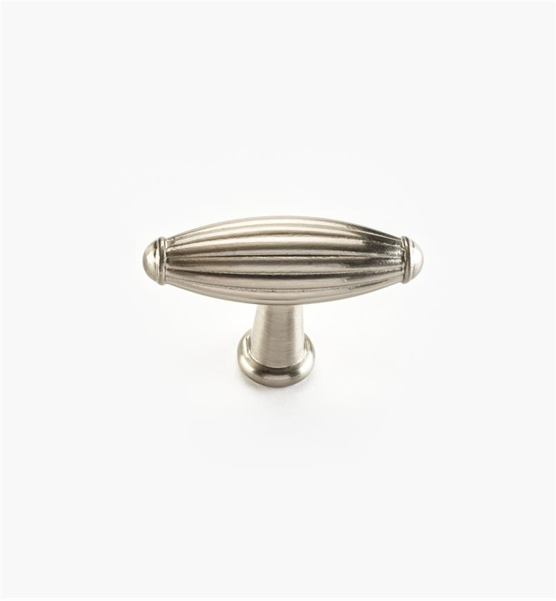 "02W4421 - Olive Suite – 2 1/4"" x 1 1/2"" Satin Nickel Knob"