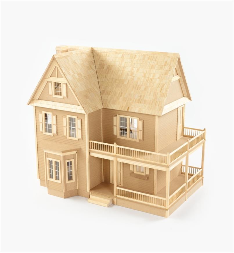 Assembled dollhouse