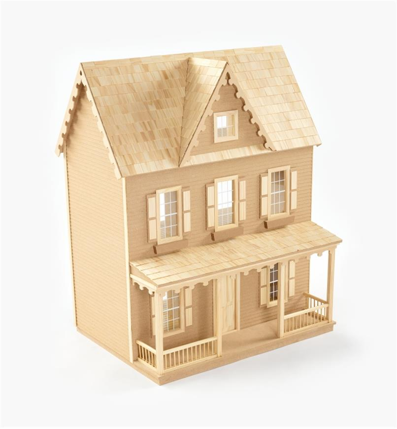 09A0985 - Vermont Farmhouse Dollhouse Kit