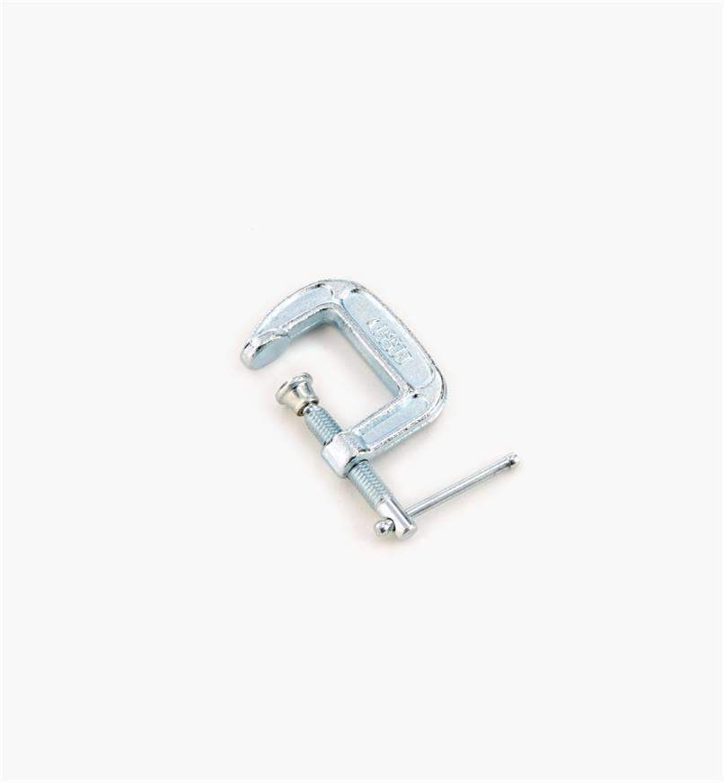17F3801 - Serre-joint en C, 1 po × 1 po