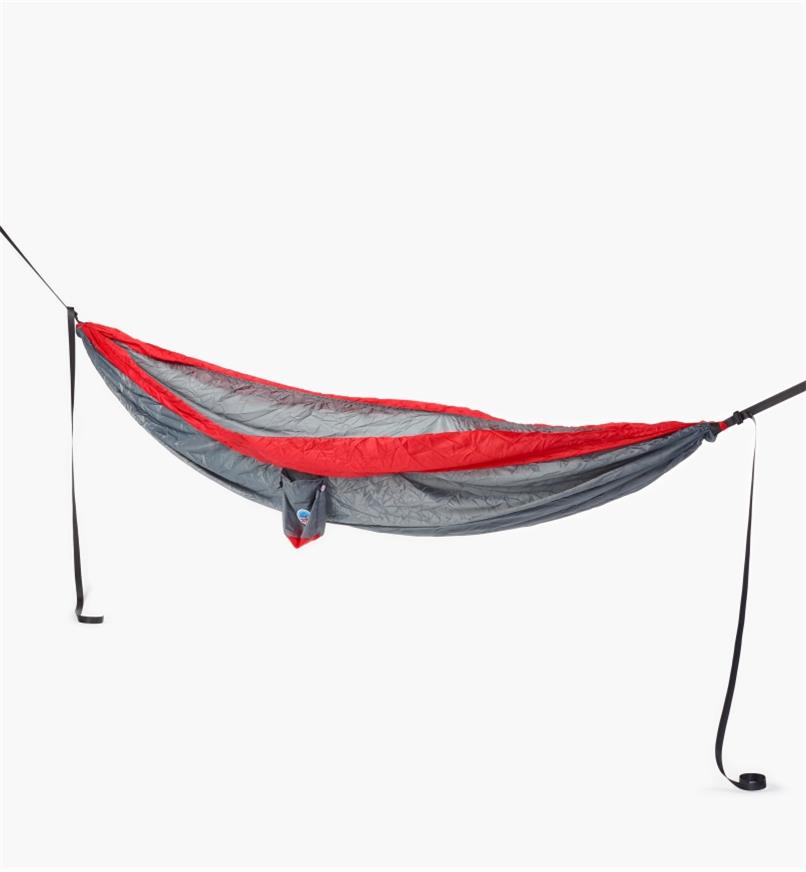 XK418 - Gray/Red Hammock