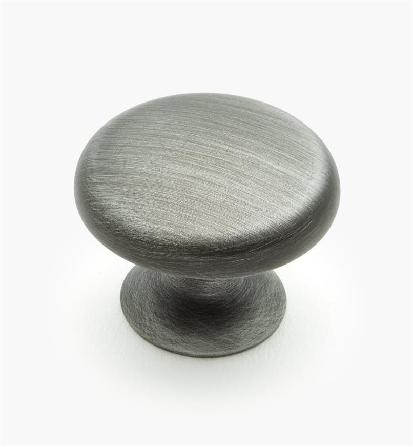 01W0647 - 30mm Weathered Pewter Bow Knob