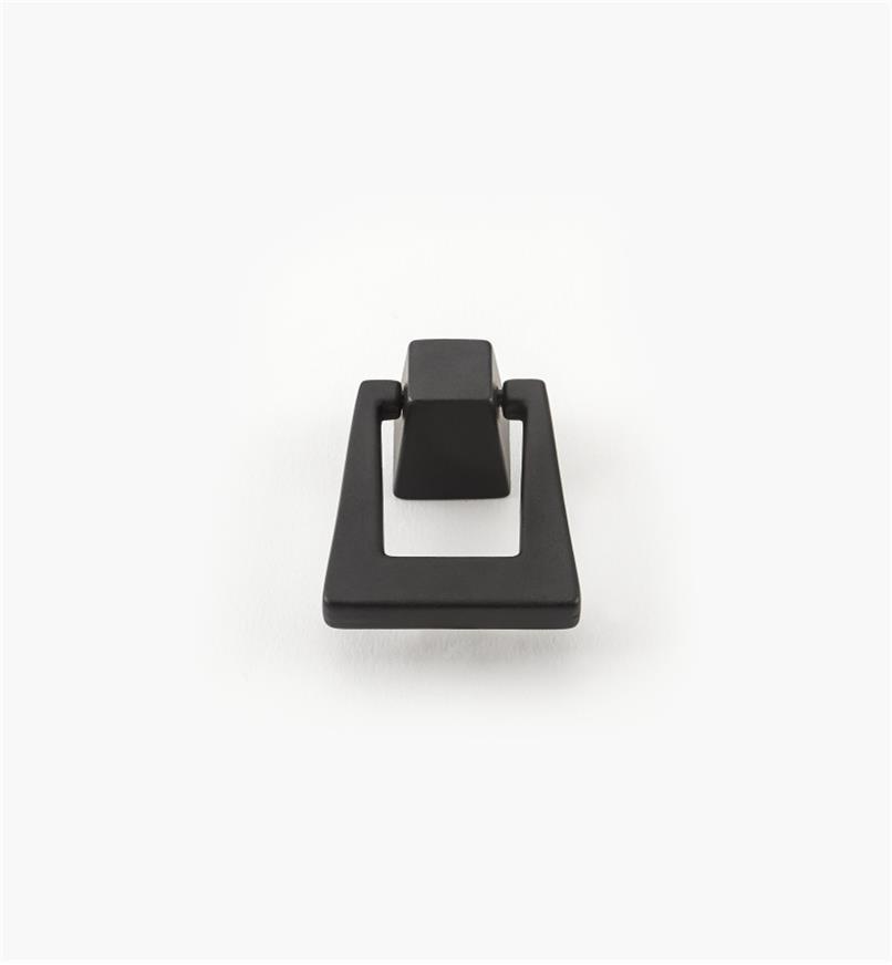 02A1764 - Poignée tombante de 13/8po x 13/4po, série Blackrock, noirbronzé, l'unité