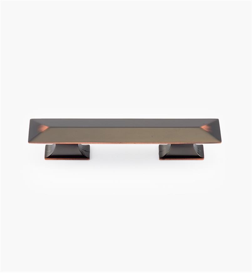 02W3534 - Poignée de 5 5/8 po × 1 1/16 po, série Bungalow, fini bronze cuivré