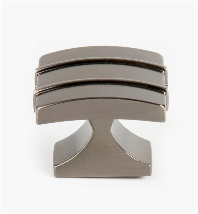 02A1431 - Grand bouton Davenport, 11/2po x 11/4po, bronze à canon, l'unité