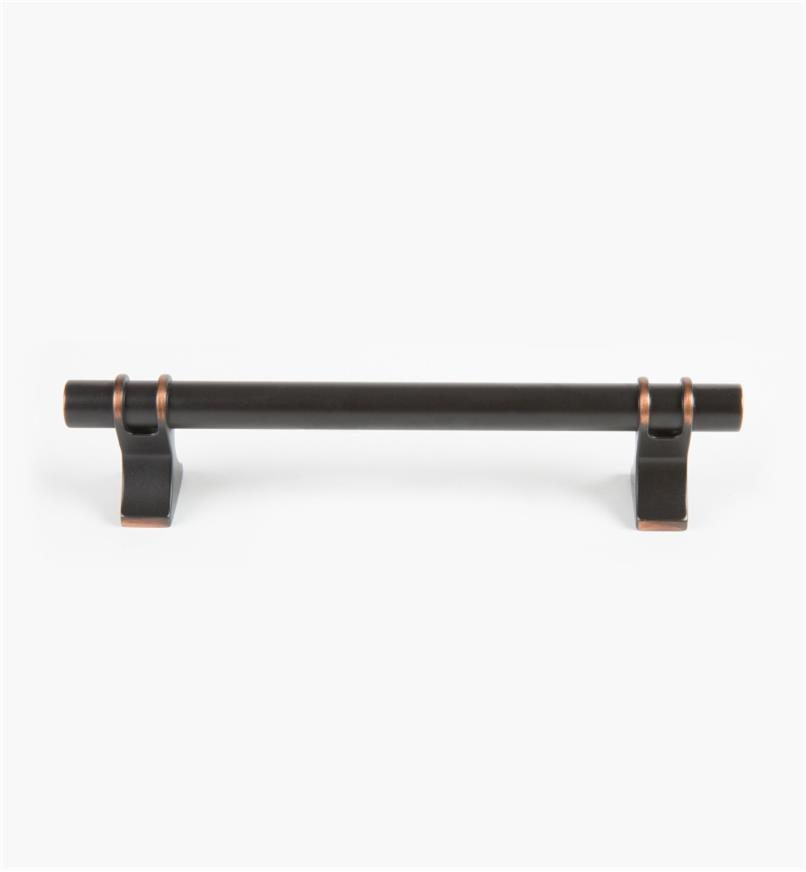 02A1438 - Davenport Oil-Rubbed Bronze 128mm Handle (167mm), each