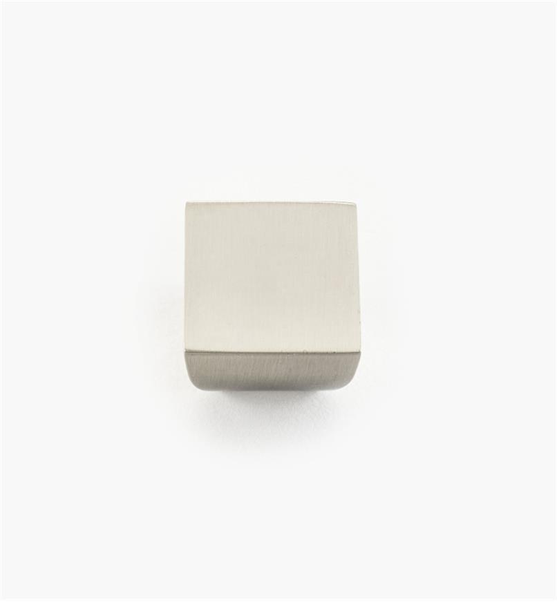 "02A4431 - 13/16"" x 5/8"" Square Plain Knob"