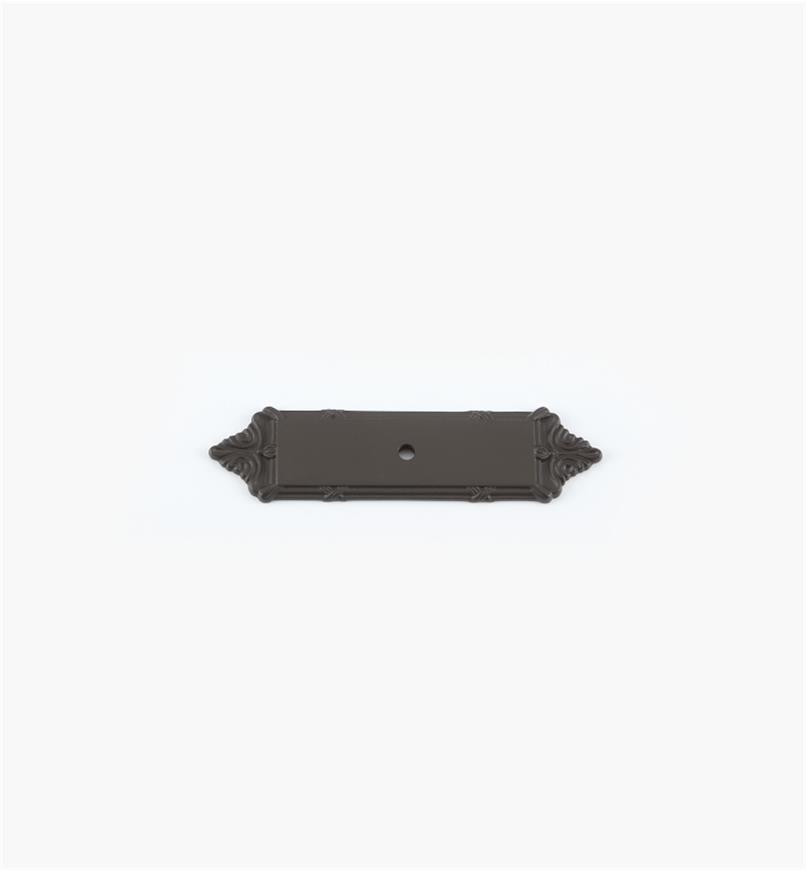 "02W2024 - 4 1/8"" x 1"" Oil-Rubbed Bronze Knob Esc."