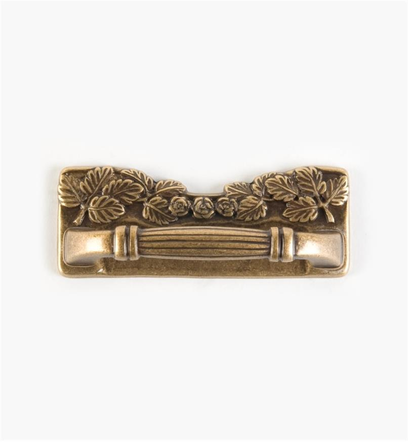 00A7821 - Plateau Art Nouveau - 64mm x 80mm Handle