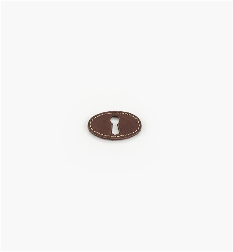 01A2904 - Horizontal Leather Escutcheon
