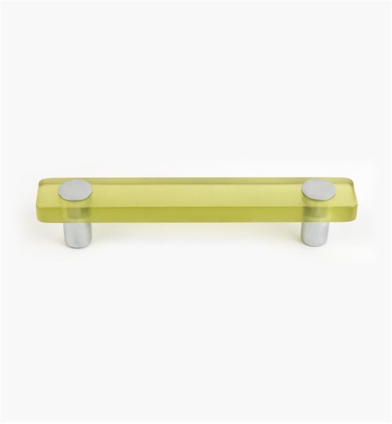 01W1152 - Poignée Malaga, vert, 25 mm x 96 mm