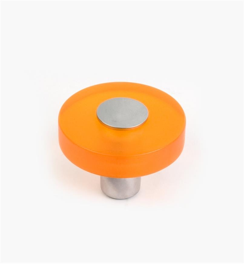 01W1171 - Malaga Hardware, Orange Round Knob