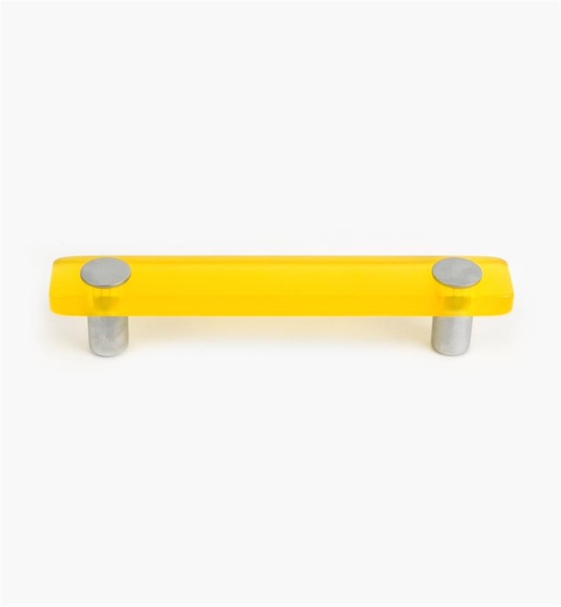 01W1182 - Malaga Hardware, Yellow Handle