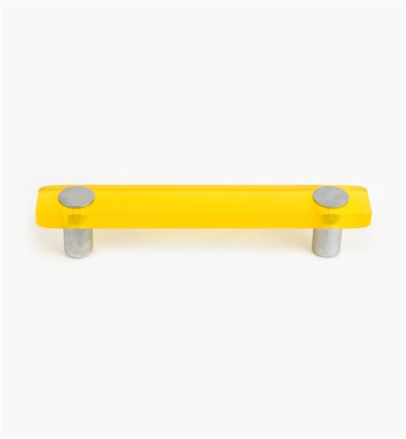 01W1182 - Poignée Malaga, jaune, 25 mm x 96 mm