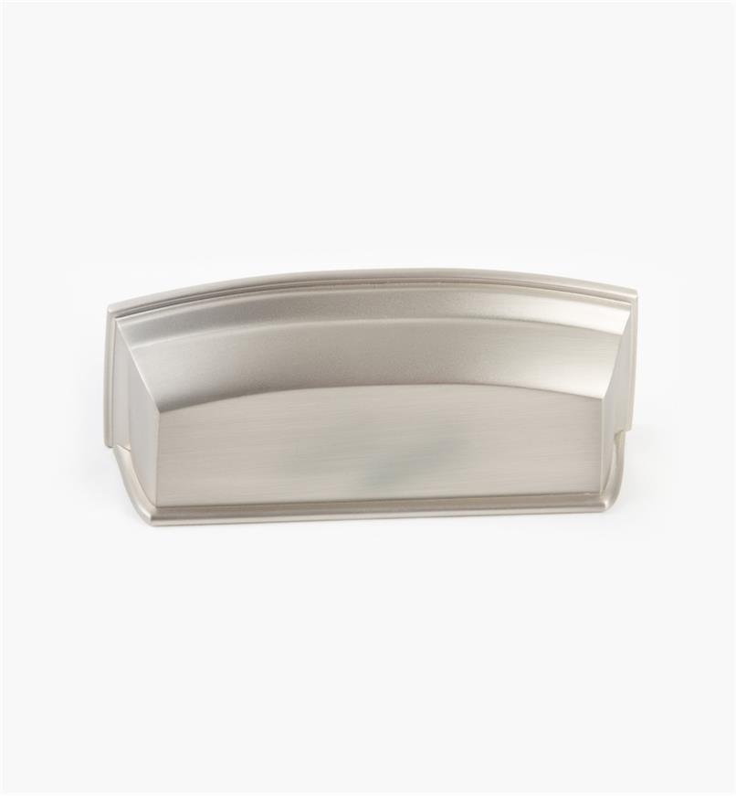 02A5282 - Menlo Park Hardware Satin Nickel Cup Pull, 3 1/2""