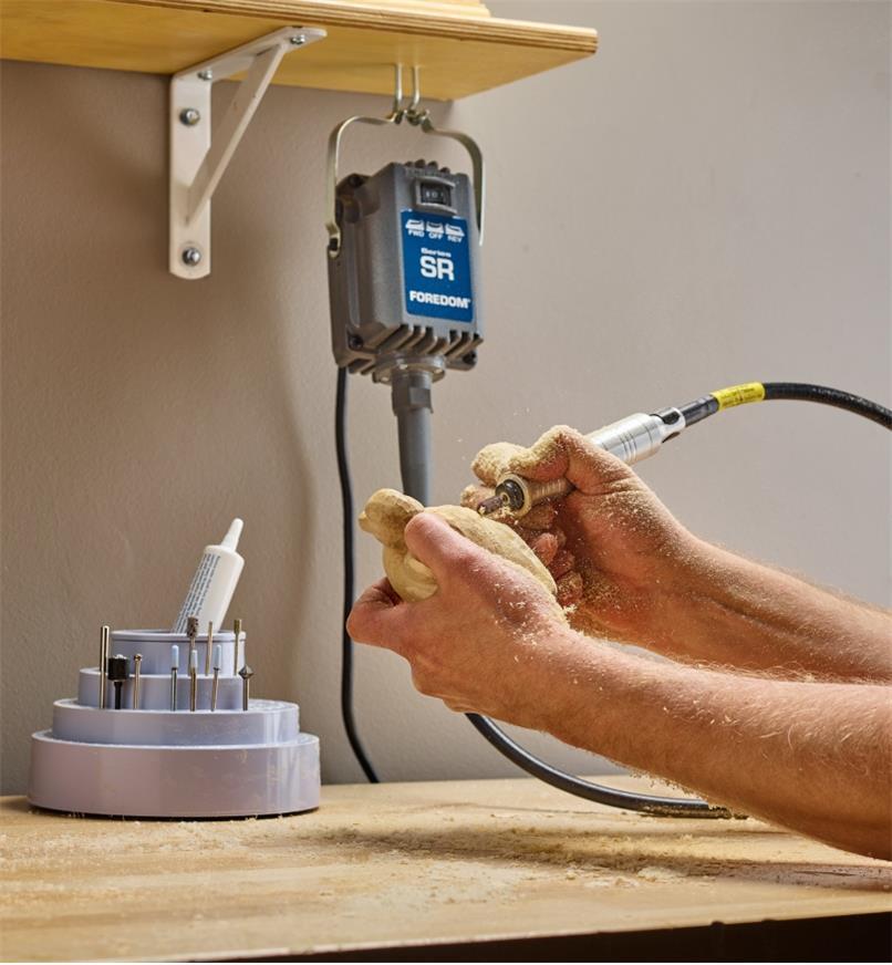 78J0260 - Foredom SR Power Carver Kit