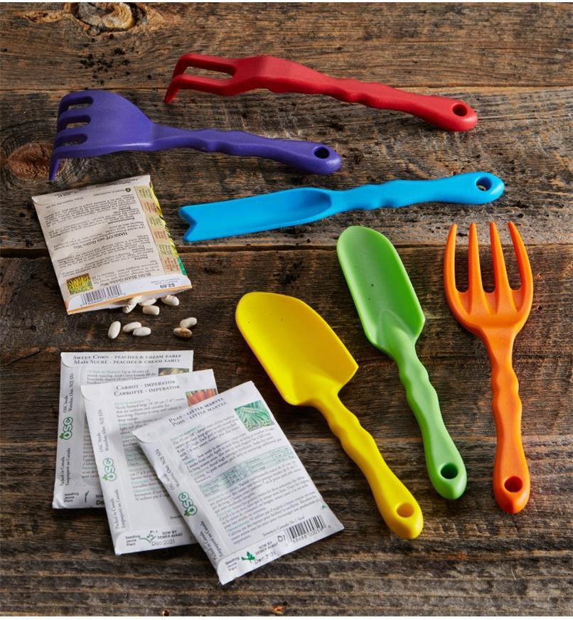 AA609 - Ensemble de jardinage potager pour enfants