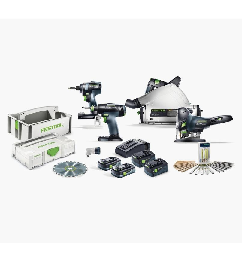 Festool Cordless Finish Combo