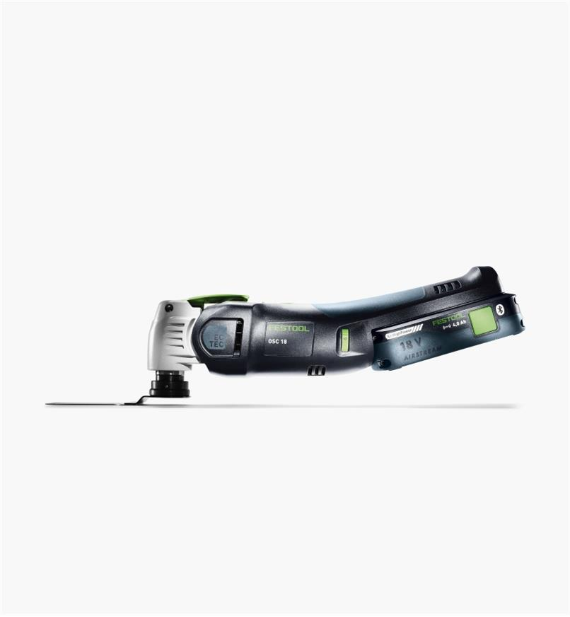 ZC576590 - Festool Vecturo OSC 18 Cordless Oscillating Tool Set