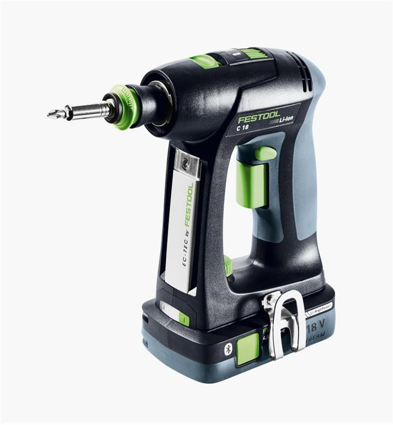 Perceuse-visseuse sans fil de base C 18 Festool (batterie non comprise)
